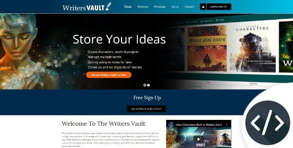 writers vault software